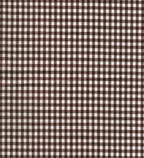 brown gingham pattern gingham fabric brown 1 8 quot online discount drapery