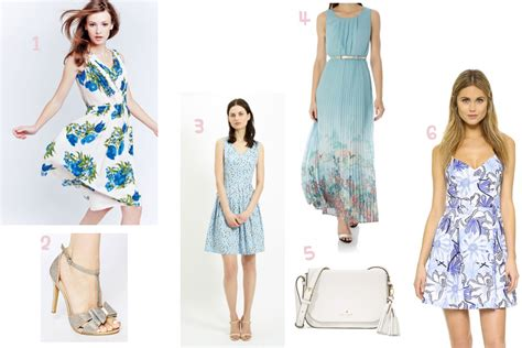 Summer Wedding Guest Dress by 4 Blue Dresses For A Summer Wedding Guest Prettygreentea