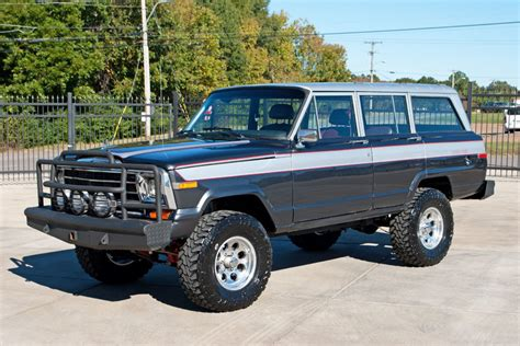 classic jeep wagoneer lifted 1988 jeep grand wagoneer art speed classic car gallery