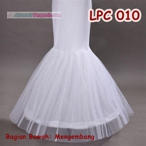 Dalaman Rok jual petticoat wedding duyung 1ring l rok dalaman gaun
