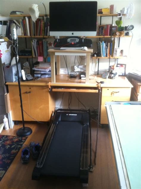 ikea hacker treadmill desk images