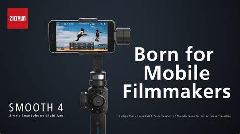 zhiyun smooth  smartphone stabilizer  filmmakers