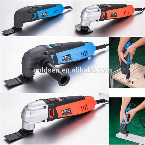 Gergaji Mesin Chainsaw Mini as seen on tv oscillating vibrating multifunction electric power cutting saw multi purpose tool