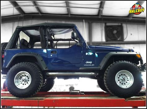 Jeep Wrangler Shaking Blue Tj Getting Checked Out For Severe Vibration During