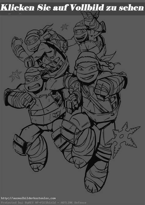 ausmalbilder kostenlos ninja turtles  5   Ausmalbilder