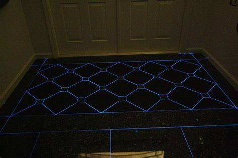 front entry foyer glow dark grout eclectic miami charles mcglaughlin