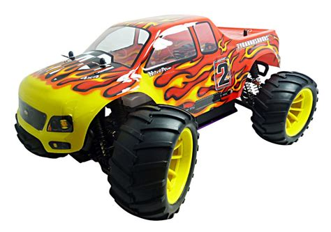 hsp nitro monster truck hsp rc truck 1 10 scale 2 4ghz nitro power 4wd off road