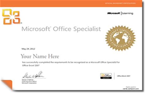 Ms Office Certification by Tech Certifications