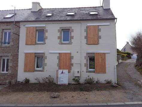 Volets Bois Coulissants Exterieurs 4287 by Volets Coulissants Bois Finist 232 Re Plouguerneau Maisons