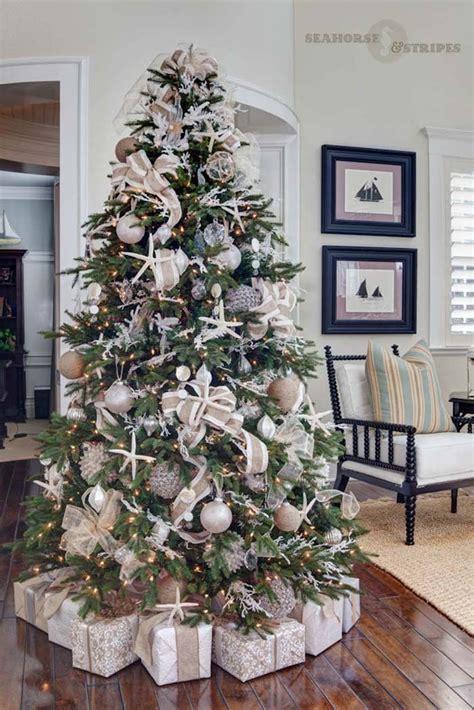 trim a home brilliant tree 30 brilliant coastal chic tree decorating ideas ideas