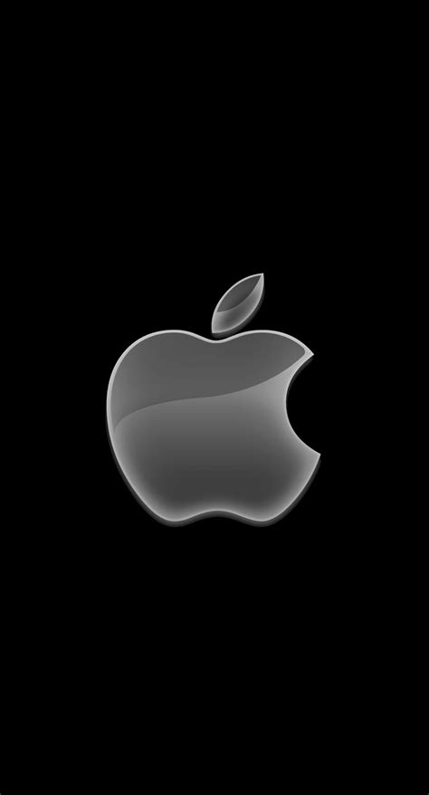 apple logo black cool wallpapersc iphonesplus
