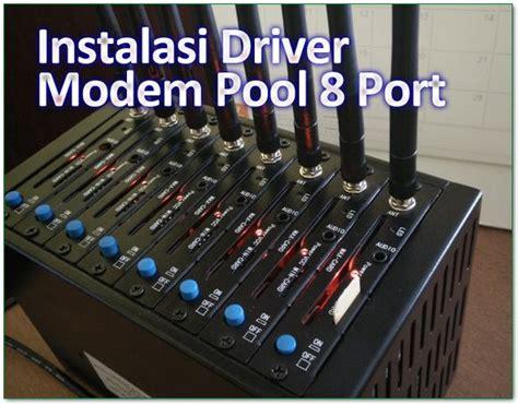 Modem Pool 8 Port Usb Tombol Biru instalasi driver modem pool 8 port