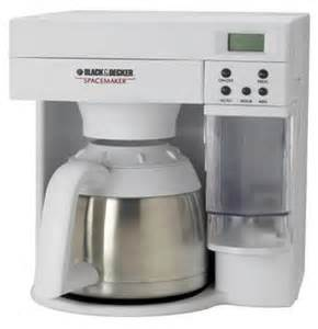 review black and decker spacemaker coffee maker odc400