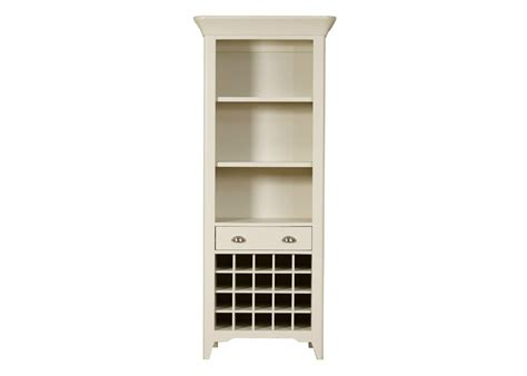 padstow bookcase wine rack from tannahill furniture ltd