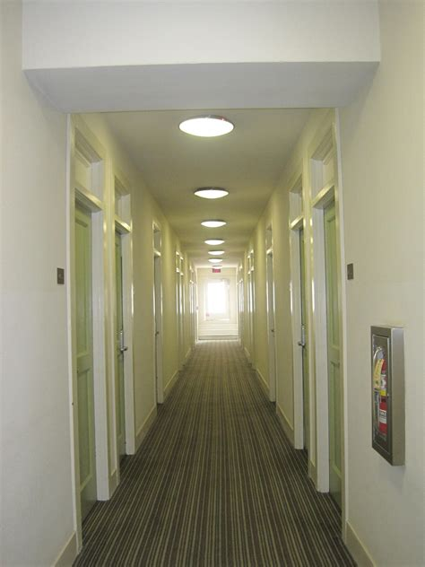in a hallway file 500 west hotel hallway jpg