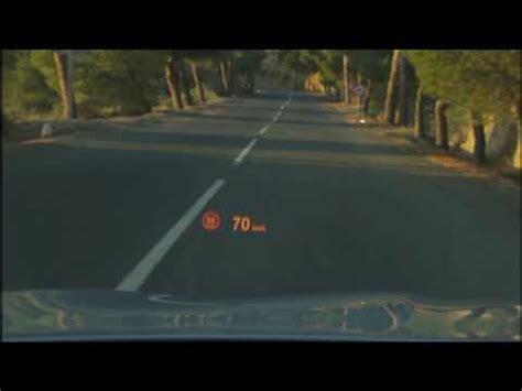 Bmw Speed Up Bewerbung new bmw 5 series sedan up display speed limit info