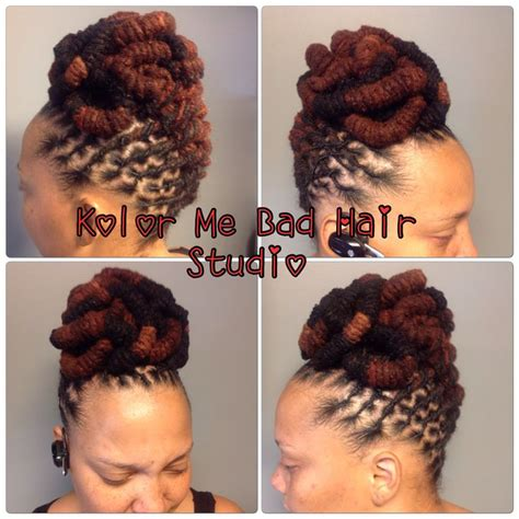 Dreadlock Pin Up Hairstyles by Dreadlock Pinup 1205 Best Locs Images On