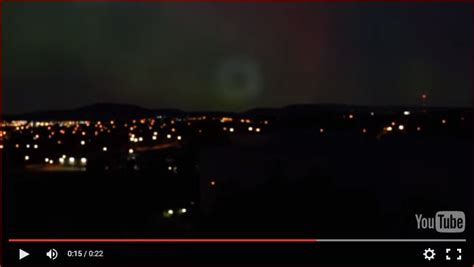 Mysterious Donut Shaped Light Appears Over Canberra Canberra Lights