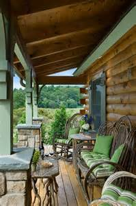 log cabin porch log homes cabins coventry log homes the silver ranch rustic porch by coventry log homes