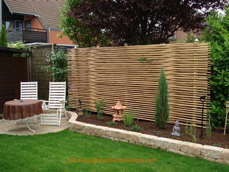 Bambus Sichtschutz Nachbar Mehr