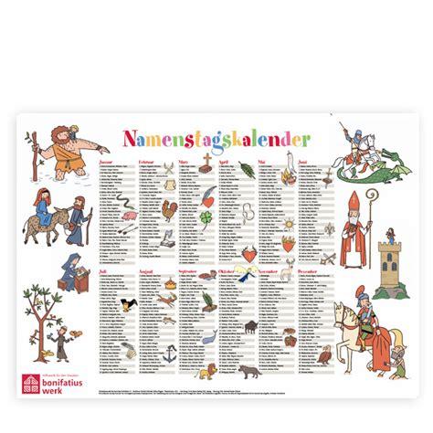 Katholischer Kalender 2016 Namenstag Kalender Kalender 2017