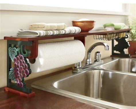 grapes and vines kitchen decor decor on top on kitchen grapes over the sink shelf from seventh avenue 174 i have a