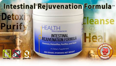 Health Foods Intestinal Detox Formula by Intestinal Rejuvenation Formula Remove Toxins Cleanse