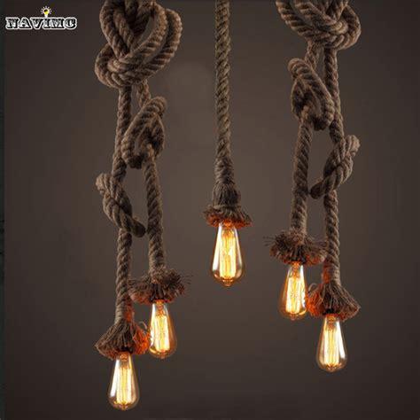 vintage speisesaal 2015 retro vintage rope pendant light l loft creative