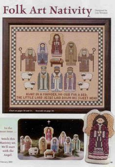 1000 Images About Cross Stitch Nativity On