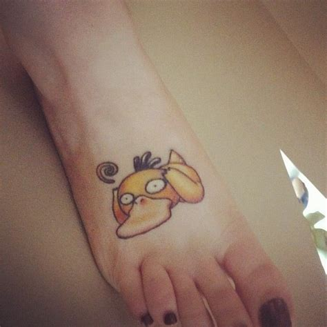 psyduck tattoo psyduck and