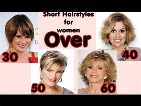 latest short hairstyles for women over 30 40 50 60