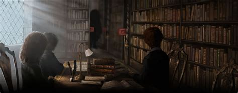 hogwarts library restricted section library pottermore wiki