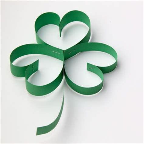 paper shamrocks bless my bits