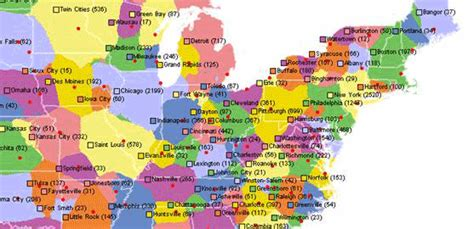 map of american cities map of american cities