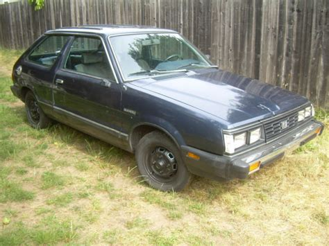 subaru hatchback 2 door 1985 subaru gl 2 door hatchback cannonball run clone like