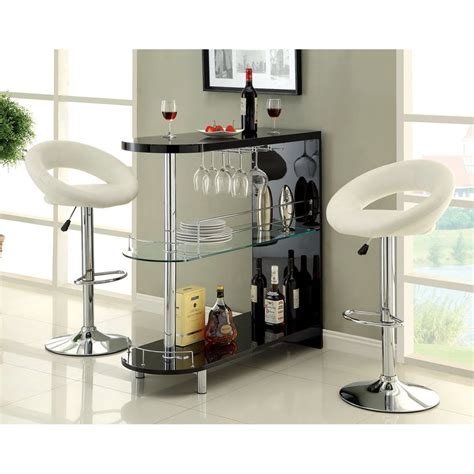 Mini Bar Furniture Shop Furniture Of America Numbi 42 In X 41 In Rectangle