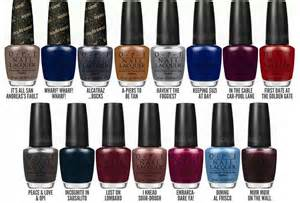 new opi colors nails