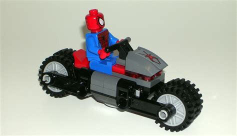 Ultimate Deadpool Figures With Shaking X Cool Car marvel heroes spider man s spider cycle 76004 by lego figurefan zero