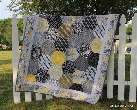 Half Hexagon Quilt Ruler by Hexagon Quilt Using Natalie S Half Hex Ruler Made By The