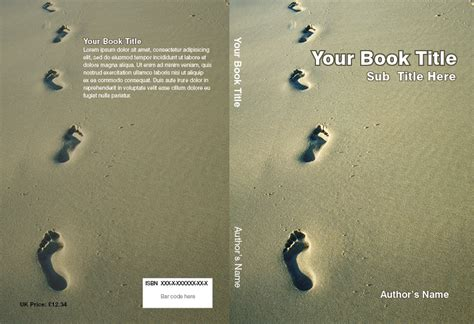 book cover template free best photos of book cover templates totally free book