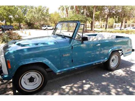 1973 jeep commando for sale jeep commando for sale on classiccars com 7