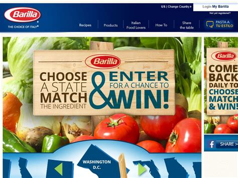 Barilla Sweepstakes - barilla discover spring possibilities sweepstakes