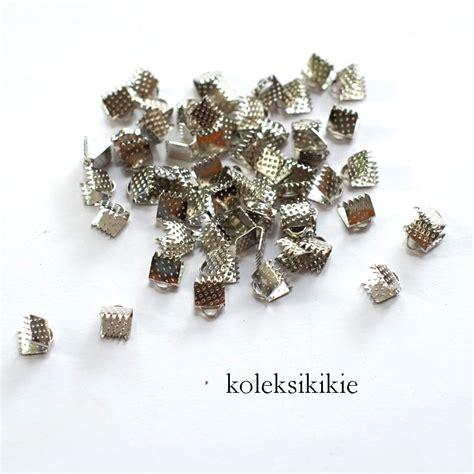 Jepit Pita Manik Gold klep jepit silver 0 5cm koleksikikie