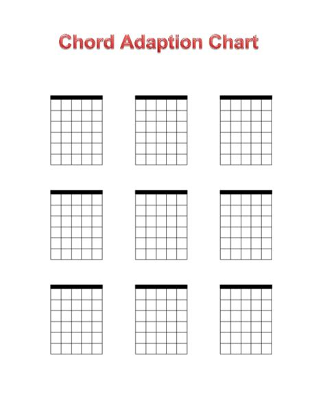 printable ukulele chord chart pdf search results for blank guitar chord chart calendar 2015
