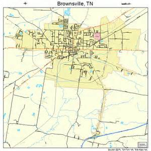 maps brownsville brownsville tennessee map 4708920