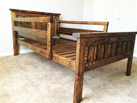 Bed Frame Stilts 1000 Images About Bed Frame Plans On Pinterest Furniture Bunk Beds And Farmhouse Bed