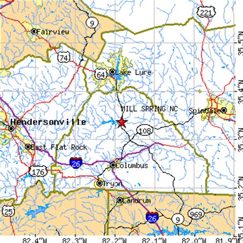 map of springs nc cground scenery pictures pictures in nc