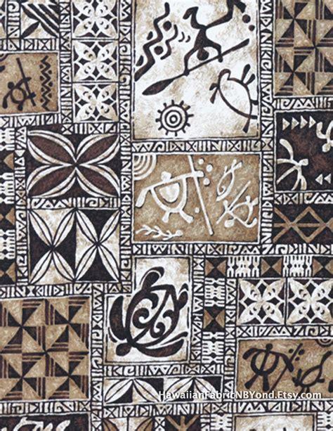 tattoo fabric polynesian tapa fabric petroglyphs tribal island