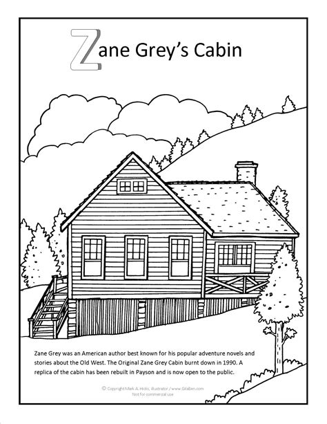 grey s anatomy coloring book pdf zane grey cabin coloring page