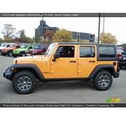 Dozer Yellow  2013 Jeep Wrangler Unlimited Rubicon 4x4